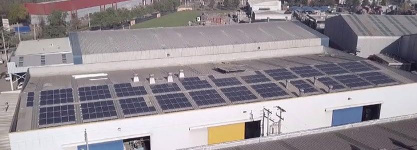 Planta Reciclaje Solar MIDAS