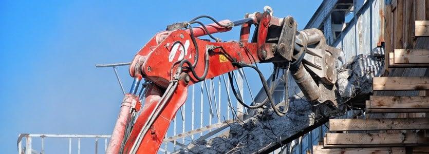 Maquinarias en la Demolición y Desarme