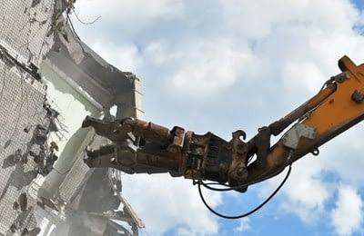 Demolición de estructuras metálicas
